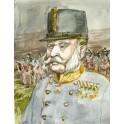 Portret Cesarza Franciszka Józefa I namalowany przez Andrzeja Zarębę